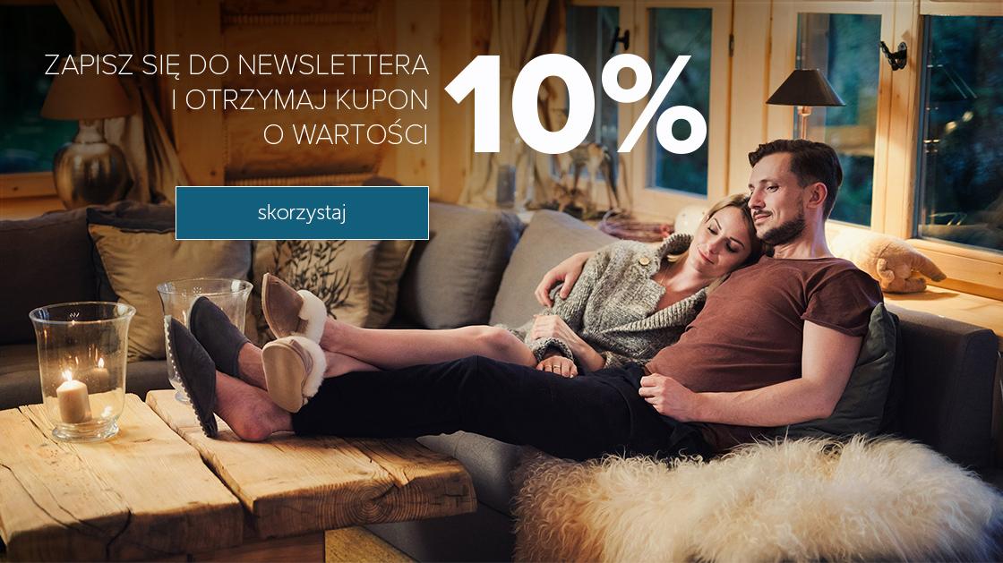 Zapisz się do newslettera i otrymaj kupon o wartości 10%